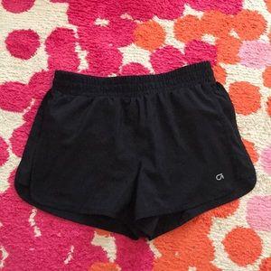 Girls black Gap Fit athletic shorts